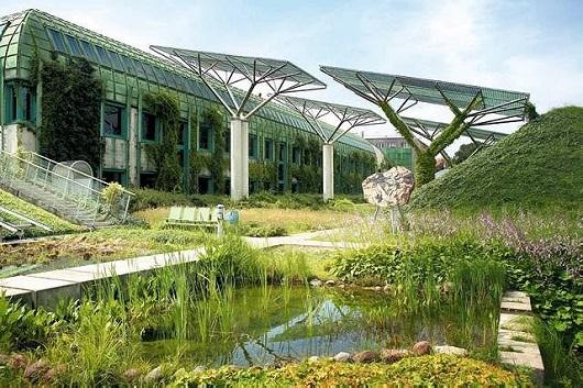Lieu Unique Le Jardin Suspendu De La Buw A Varsovie